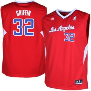 Blake Griffin LA Clippers adidas Youth Replica Road Jersey - Red