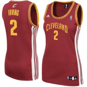 adidas Kyrie Irving Cleveland Cavaliers Women's Replica Jersey - Wine