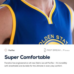 Klay Thompson Golden State Warriors Fanatics Branded Youth Royal 2018 NBA Finals Champions Fast Break Replica Player Jersey - Icon Edition