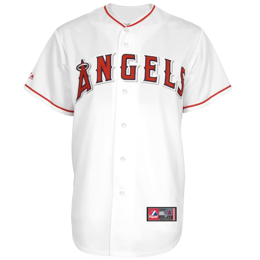 CJ Wilson Los Angeles Angels Majestic Home Replica Player Jersey - White