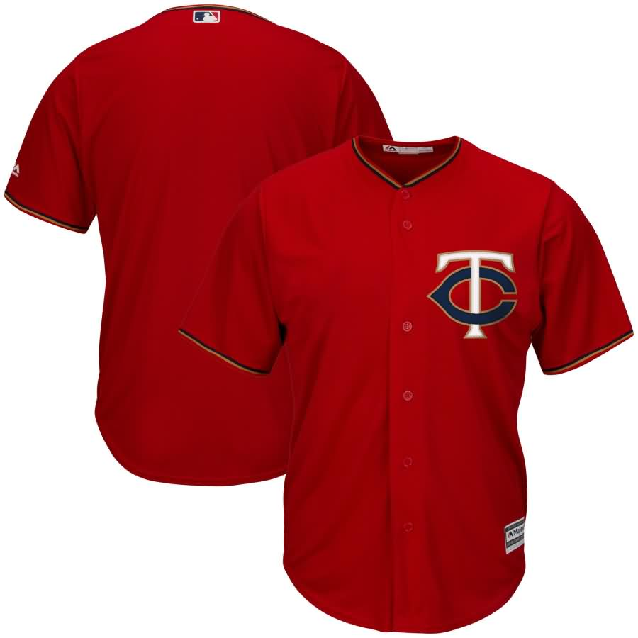 Minnesota Twins Majestic Youth Official Cool Base Team Replica Jersey - Red