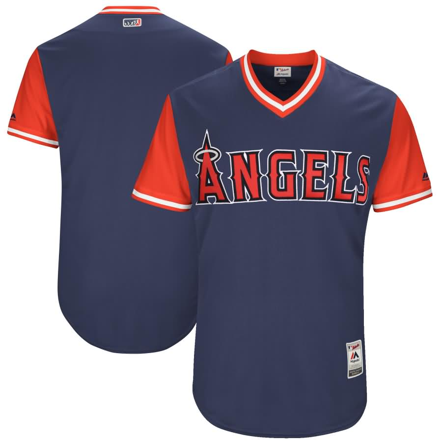 Los Angeles Angels Majestic 2017 Players Weekend Authentic Team Jersey - Navy