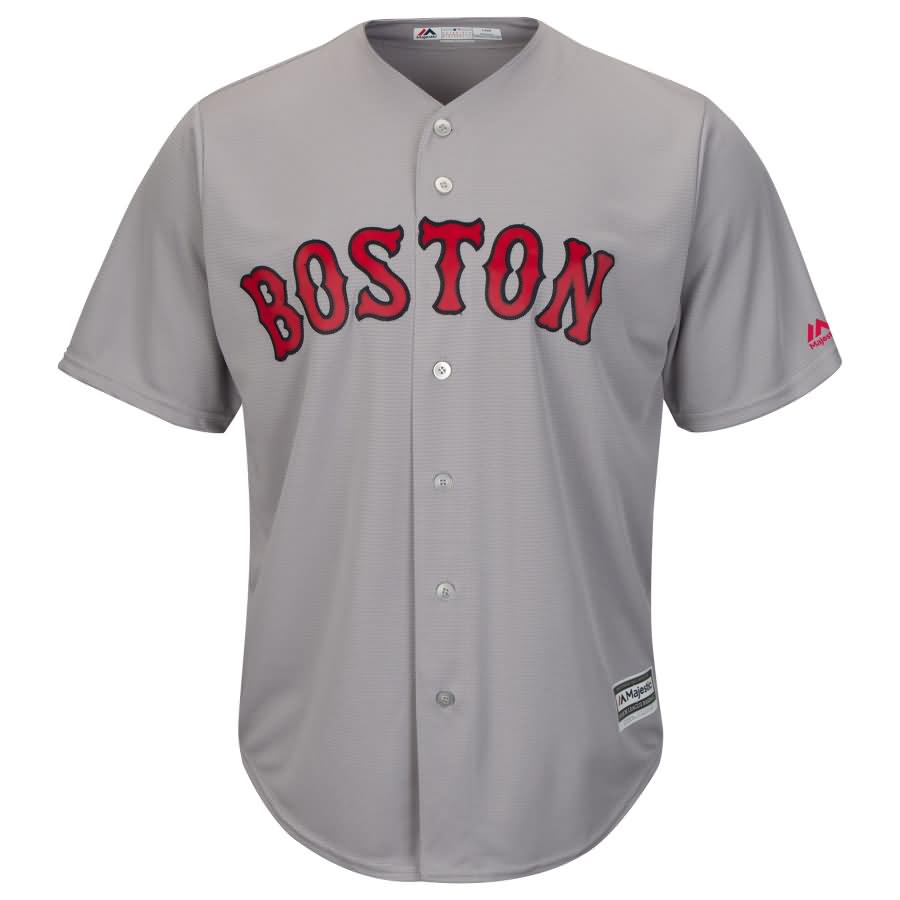Rafael Devers Boston Red Sox Majestic Road Official Cool Base Player Jersey - Gray