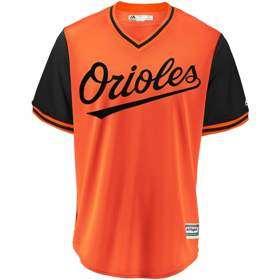 Baltimore Orioles Majestic 2018 Players' Weekend Cool Base Pick-A-Player Roster Jersey - Orange/Black