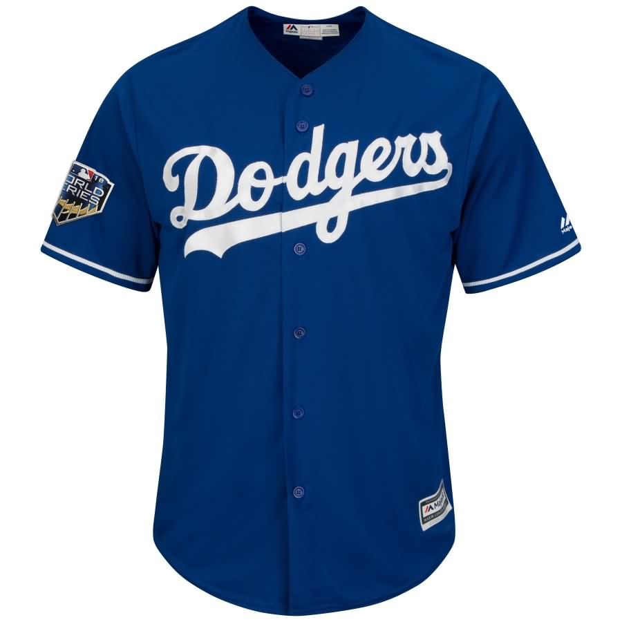 Cody Bellinger Los Angeles Dodgers Majestic 2018 World Series Cool Base Player Jersey - Royal