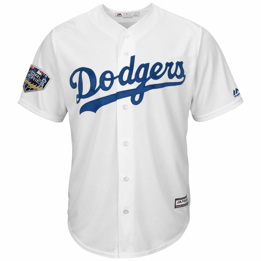 Yasiel Puig Los Angeles Dodgers Majestic 2018 World Series Cool Base Player Jersey - White