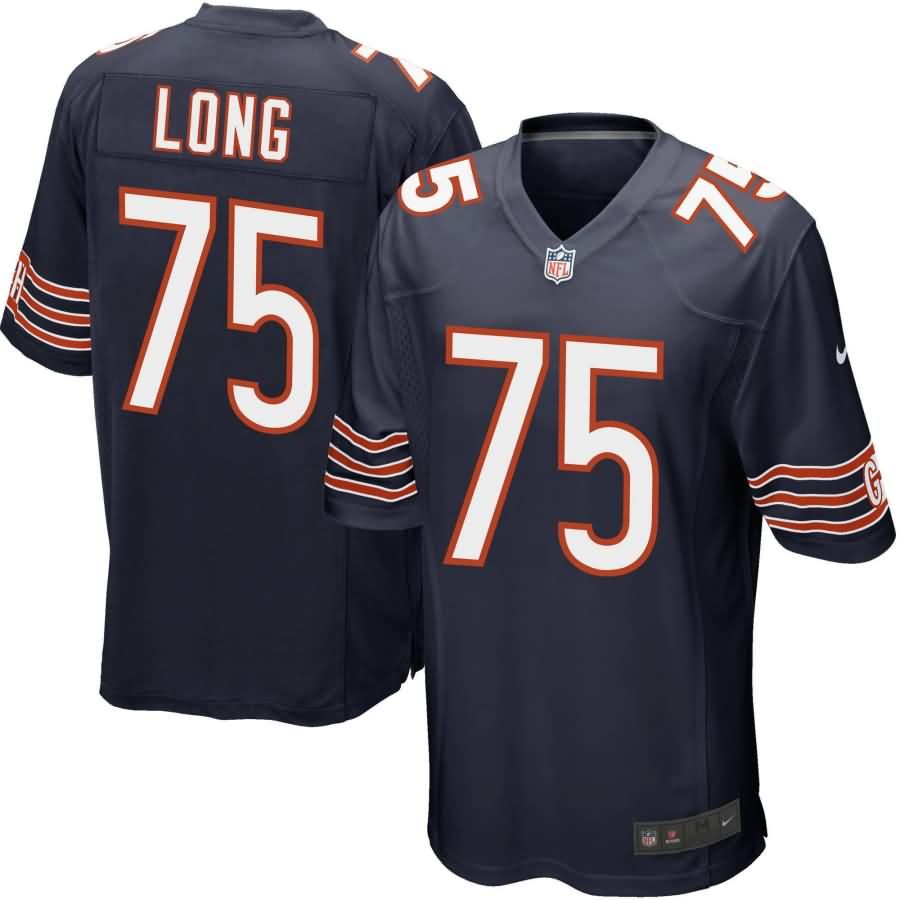 Kyle Long Chicago Bears Nike Game Jersey - Navy Blue