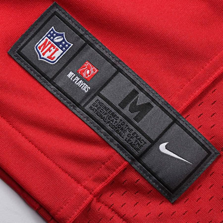 Eric Fisher Kansas City Chiefs Nike Game Jersey - Red