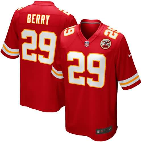 Eric Berry Kansas City Chiefs Nike Youth Team Color Game Jersey - Red