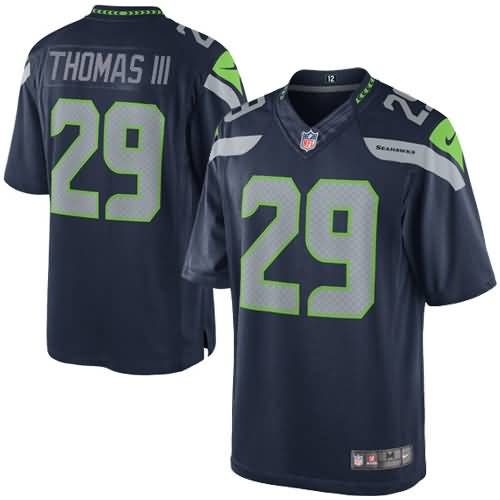 Earl Thomas III Seattle Seahawks Nike Team Color Limited Jersey - College Navy