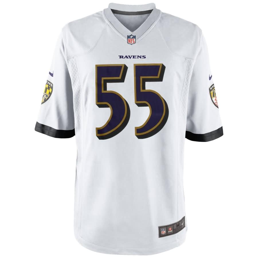 Terrell Suggs Baltimore Ravens Nike Youth Game Jersey - White