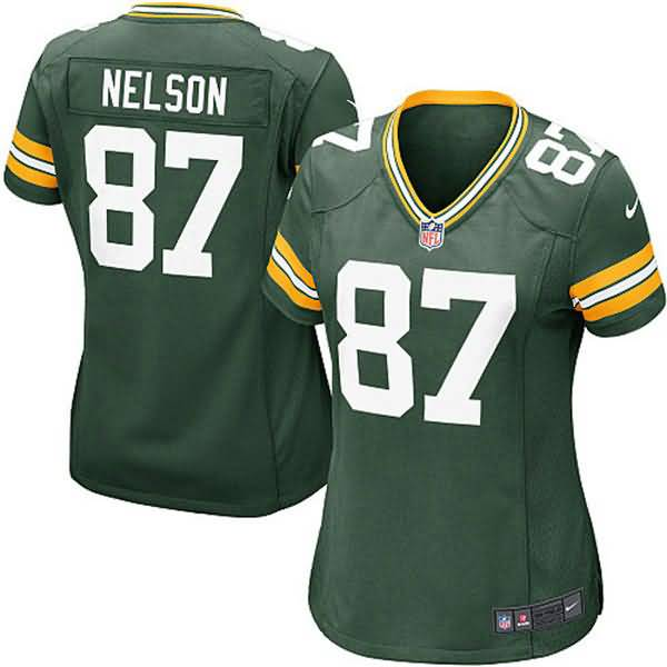 Jordy Nelson Green Bay Packers Nike Girls Youth Game Jersey - Green