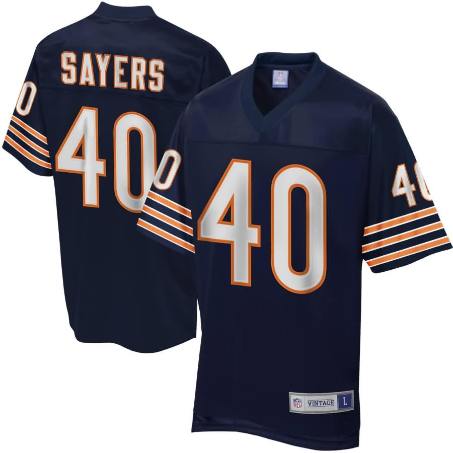 Men's NFL Pro Line Chicago Bears Gale Sayers Retired Player Jersey-