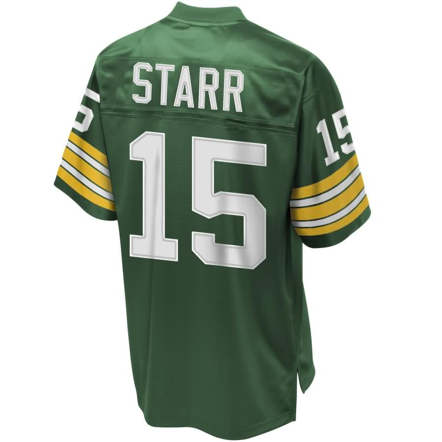 Men's NFL Pro Line Green Bay Packers Bart Starr Retired Player Jersey