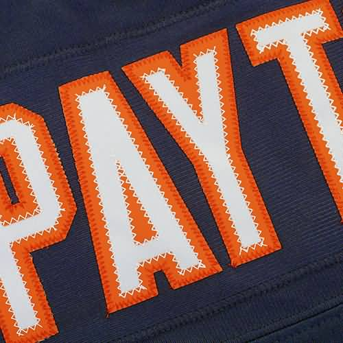 Mens Chicago Bears Walter Payton Mitchell & Ness Navy 1985 Retired Player Vintage Replica Jersey