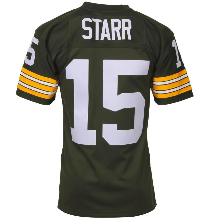 Bart Starr Green Bay Packers Mitchell & Ness Retired Player Vintage Replica Jersey - Green