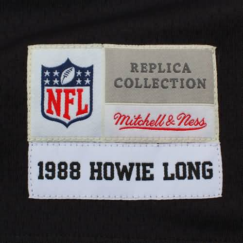 Howie Long Oakland Raiders Mitchell & Ness Retired Player Vintage Replica Jersey - Black
