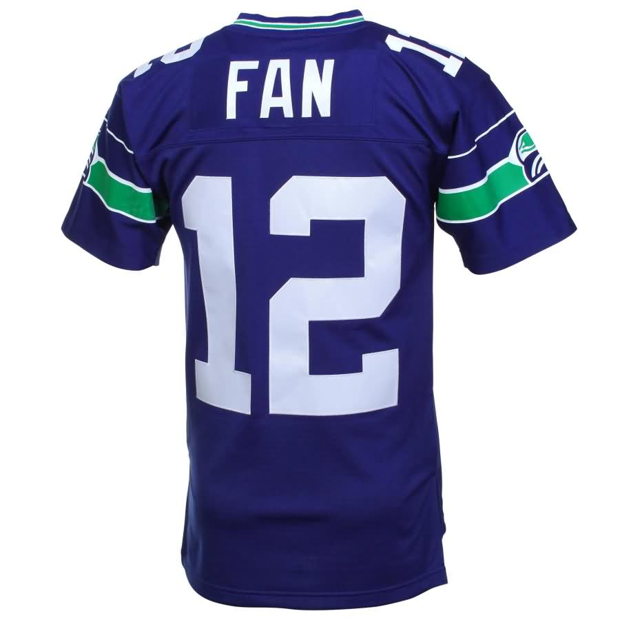 12s Seattle Seahawks Mitchell & Ness Retired Player Vintage Replica Jersey - Royal Blue