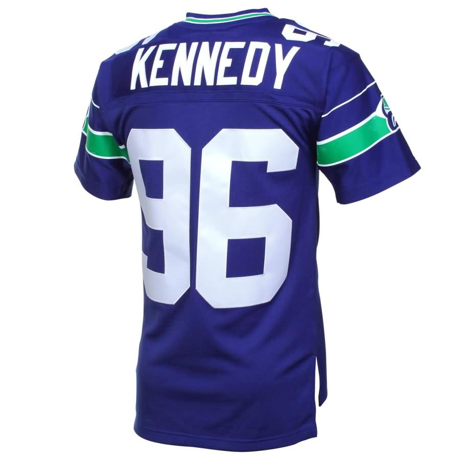 Cortez Kennedy Seattle Seahawks Mitchell & Ness Retired Player Vintage Replica Jersey - Royal Blue