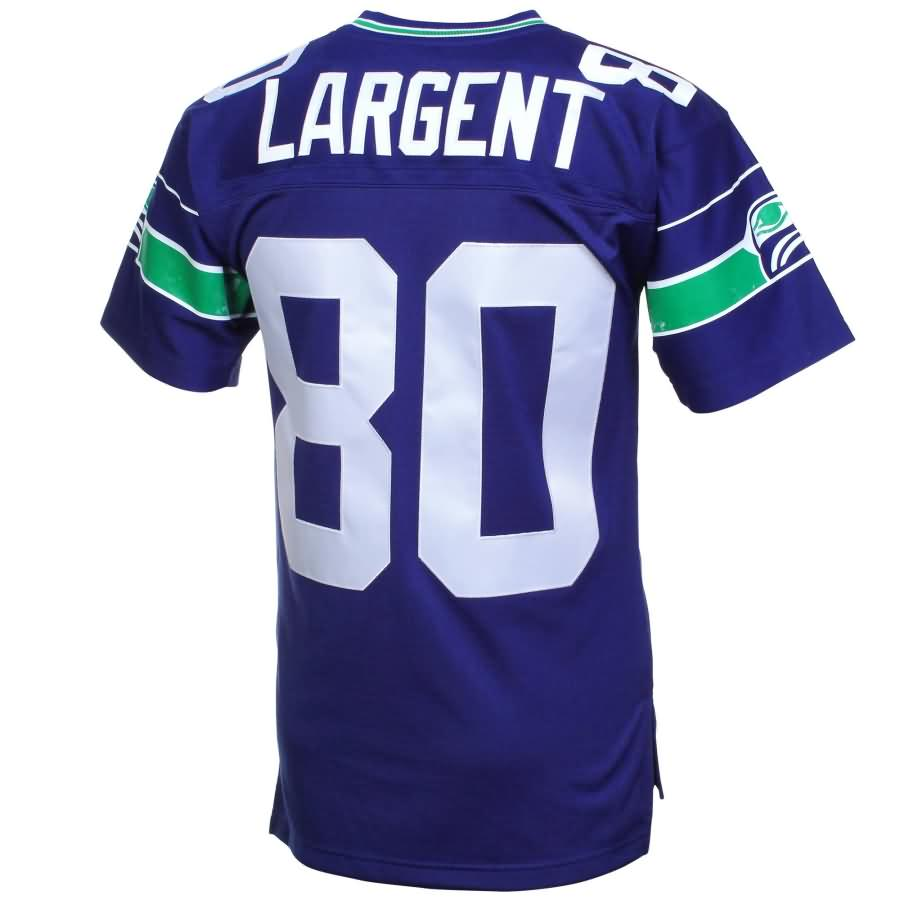 Steve Largent Seattle Seahawks Mitchell & Ness Retired Player Vintage Replica Jersey - Royal Blue