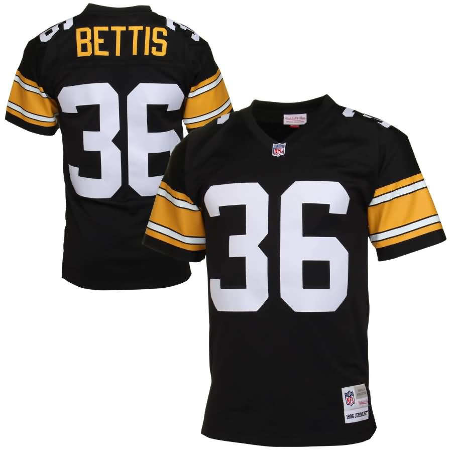 Jerome Bettis Pittsburgh Steelers Mitchell & Ness Retired Player Vintage Replica Jersey - Black