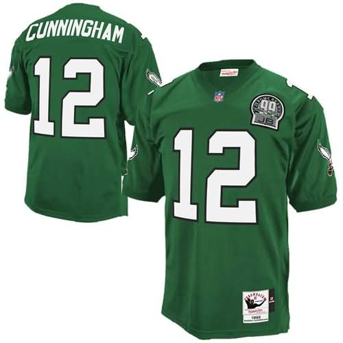Randall Cunningham Philadelphia Eagles Mitchell & Ness Authentic Throwback Jersey - Green