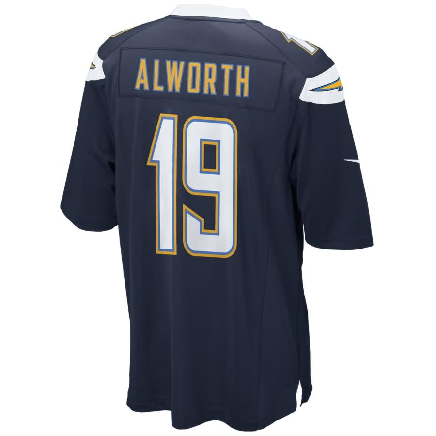San Diego Chargers Nike Lance Alworth Retired Player Game Jersey - Navy
