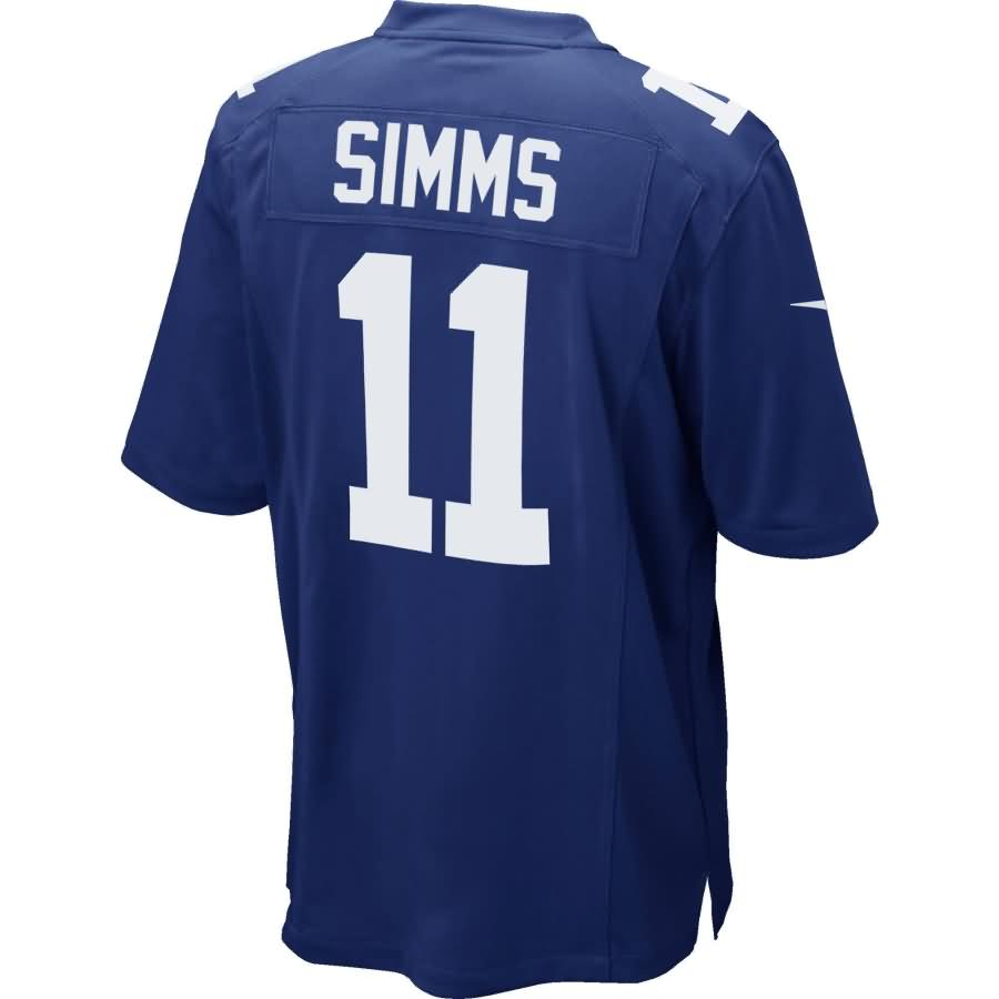 New York Giants Nike Phil Simms Retired Player Game Jersey - Royal