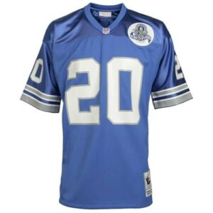 Barry Sanders Detroit Lions Mitchell & Ness Authentic Throwback Jersey - Light Blue