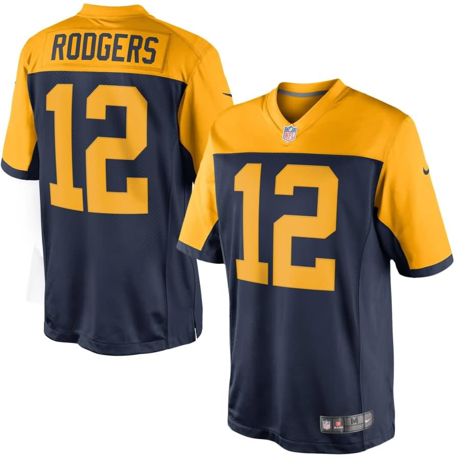 Aaron Rodgers Green Bay Packers Nike Limited Alternate Jersey - Navy Blue