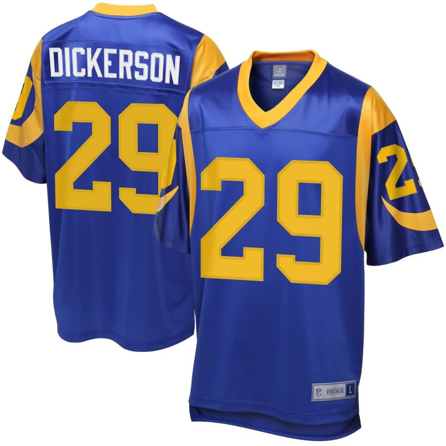 Eric Dickerson Los Angeles Rams NFL Pro Line Retired Player Jersey - Blue