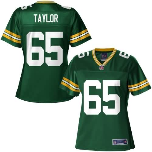 NFL Pro Line Women's Green Bay Packers Lane Taylor Team Color Jersey