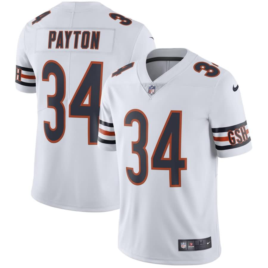 Walter Payton Chicago Bears Nike Retired Player Vapor Untouchable Limited Throwback Jersey - White