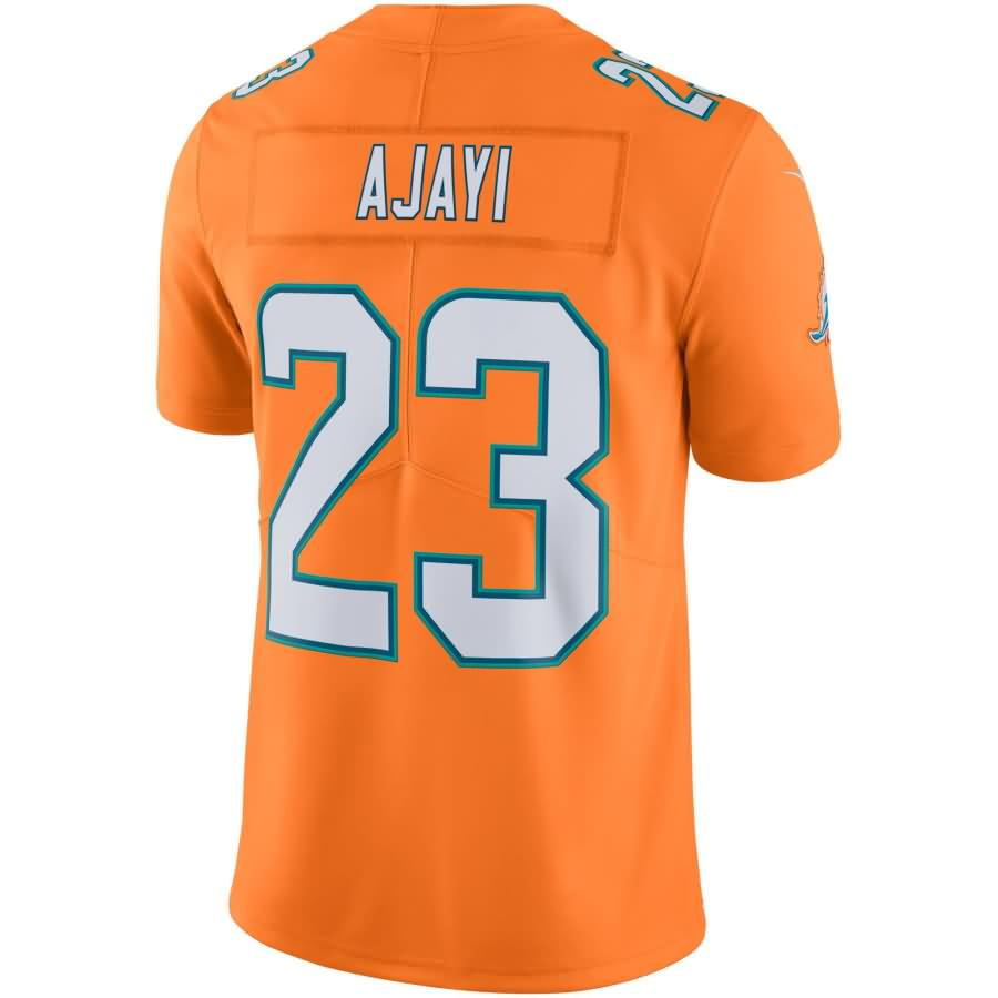 Jay Ajayi Miami Dolphins Nike Vapor Untouchable Color Rush Limited Player Jersey - Orange