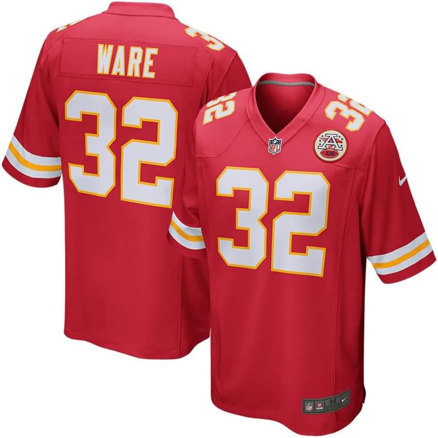 Spencer Ware Kansas City Chiefs Nike Game Jersey - Red
