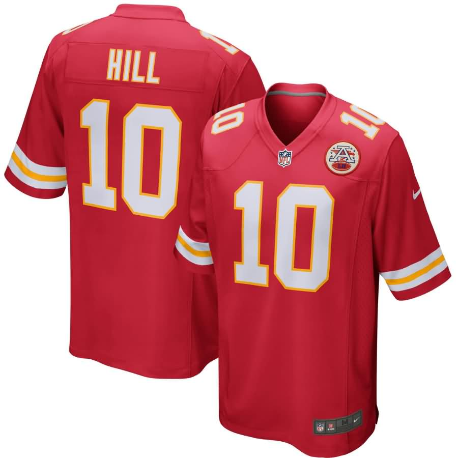Tyreek Hill Kansas City Chiefs Nike Youth Game Jersey - Red