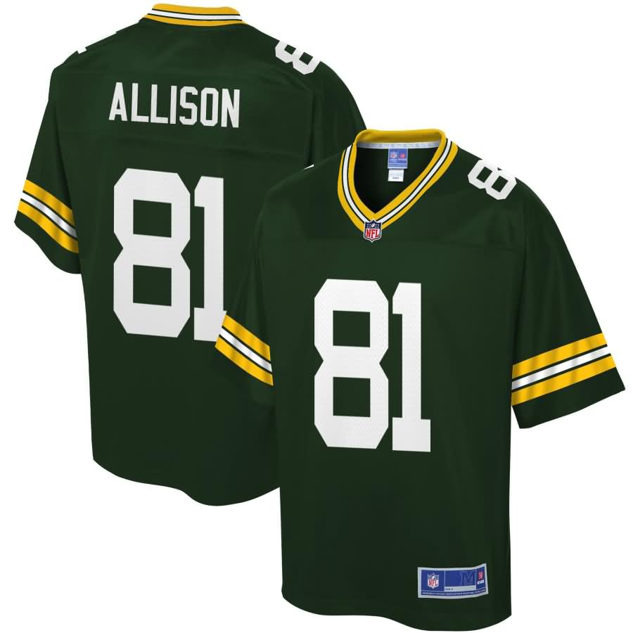 Geronimo Allison Green Bay Packers NFL Pro Line Player Jersey - Green
