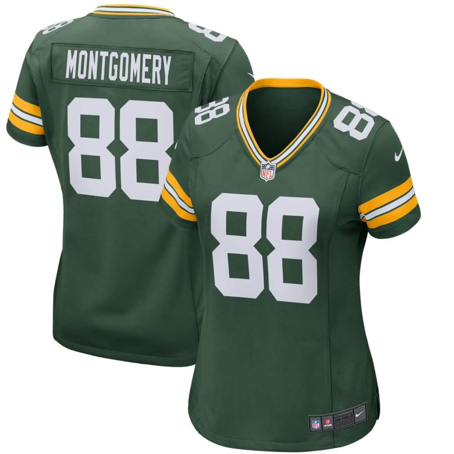 Ty Montgomery Green Bay Packers Nike Women's Game Jersey - Green