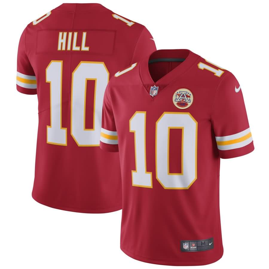 Tyreek Hill Kansas City Chiefs Nike Vapor Untouchable Limited Player Jersey - Red