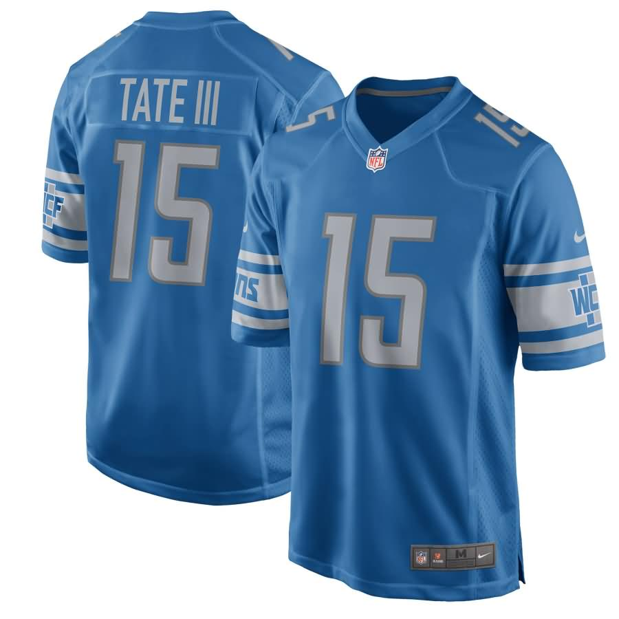 Golden Tate Detroit Lions Nike Youth 2017 Game Jersey - Blue