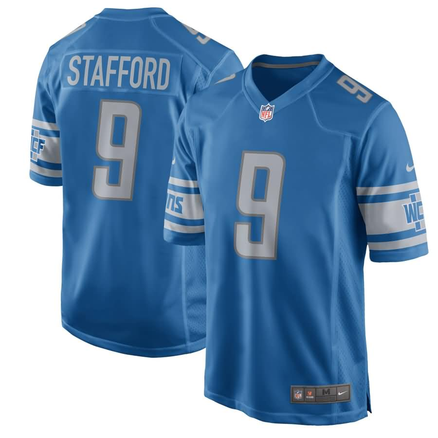 Matthew Stafford Detroit Lions Nike Youth 2017 Game Jersey - Blue