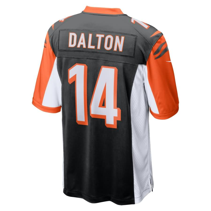 Andy Dalton Cincinnati Bengals Nike Youth 50th Anniversary Patch Game Jersey - Black