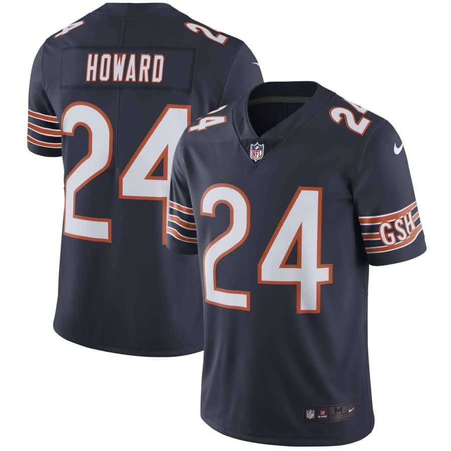 Jordan Howard Chicago Bears Nike Youth Vapor Untouchable Limited Player Jersey - Navy