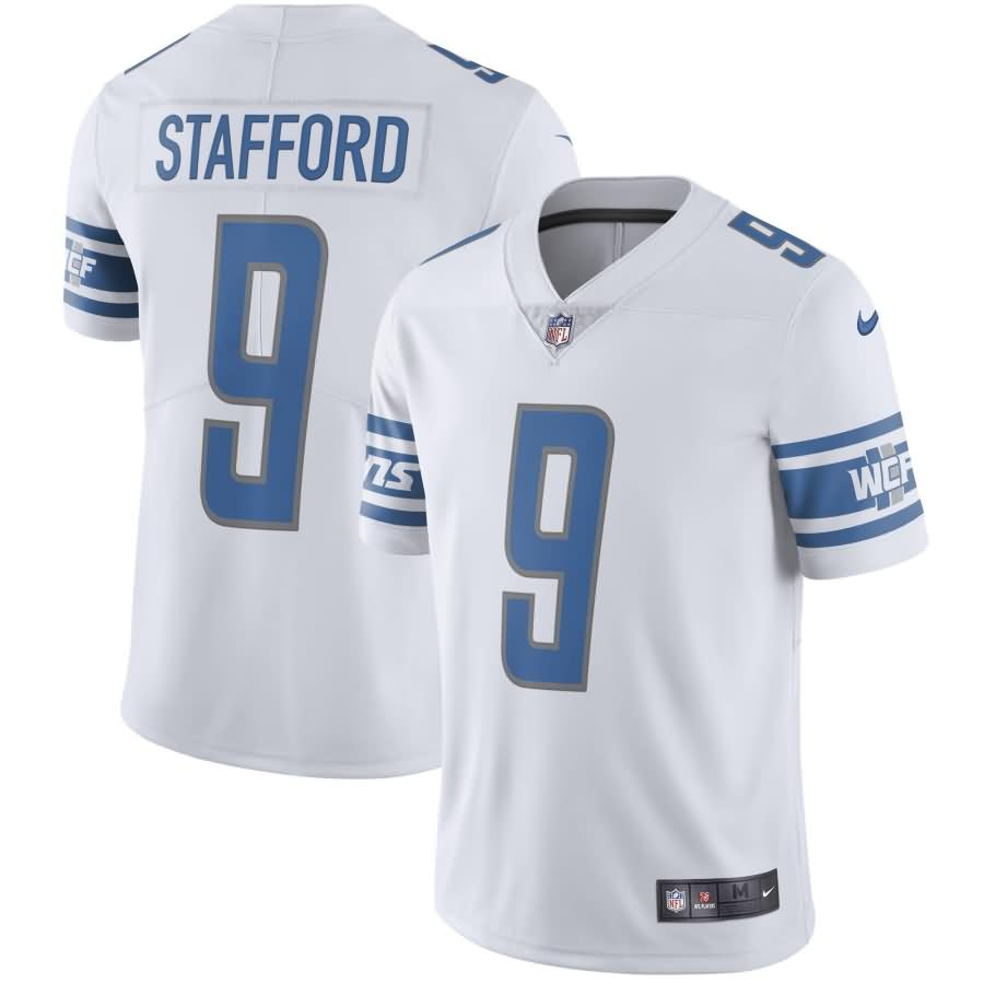 Matthew Stafford Detroit Lions Nike Youth Vapor Untouchable Limited Player Jersey - White