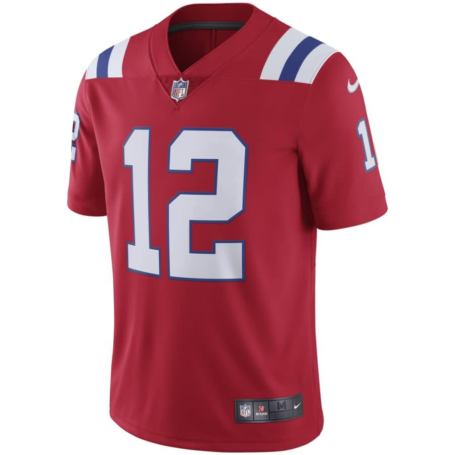 Tom Brady New England Patriots Nike Youth Vapor Untouchable Limited Player Jersey - Red