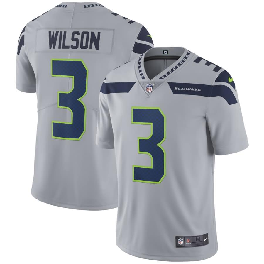 Russell Wilson Seattle Seahawks Nike Youth Vapor Untouchable Limited Player Jersey - Gray