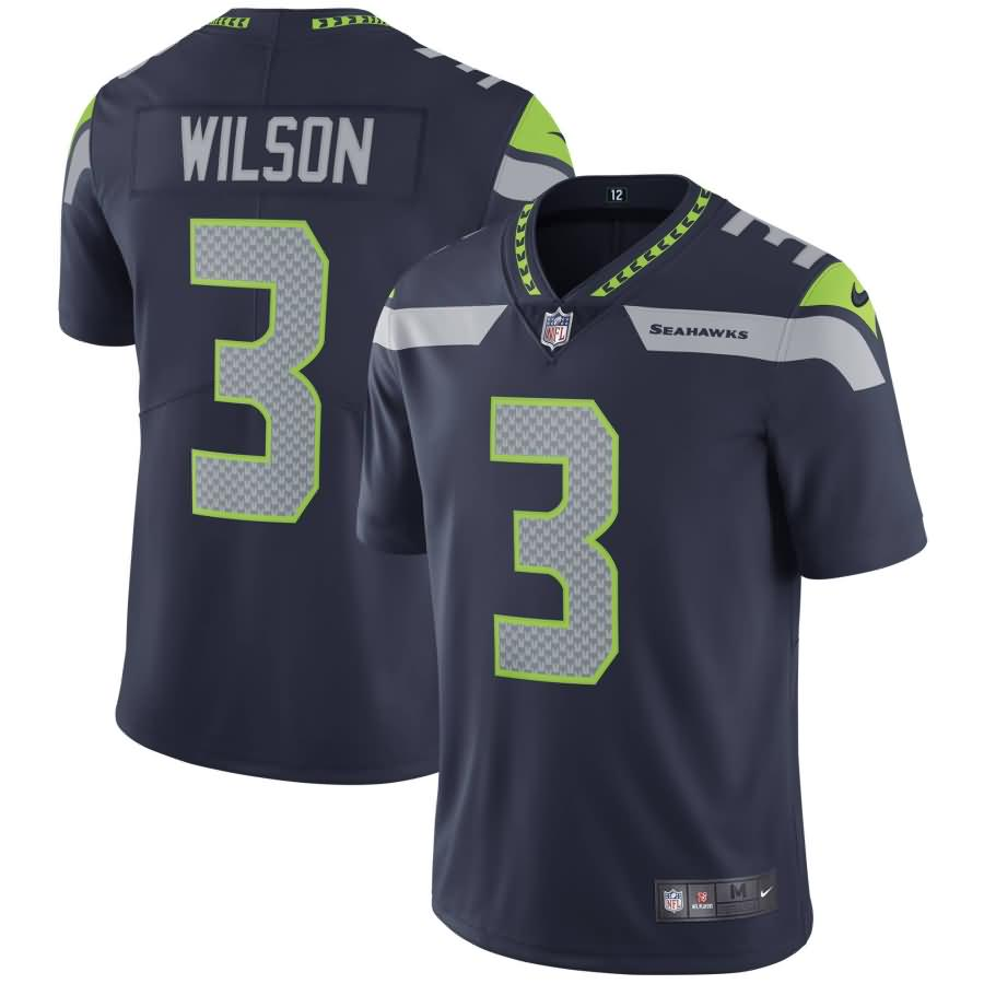 Russell Wilson Seattle Seahawks Nike Youth Vapor Untouchable Limited Player Jersey - College Navy