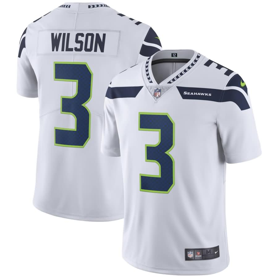 Russell Wilson Seattle Seahawks Nike Youth Vapor Untouchable Limited Player Jersey - White