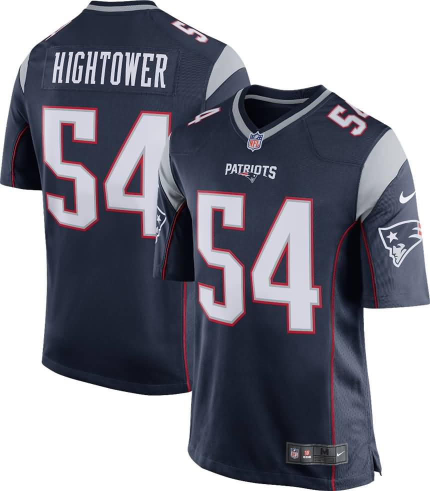 Dont'a Hightower New England Patriots Nike Youth Game Jersey - Navy