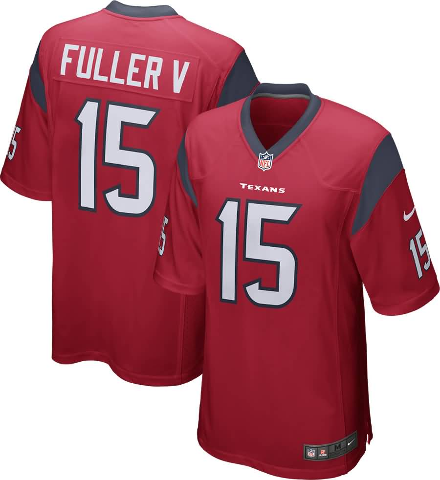 Will Fuller Houston Texans Nike Youth Game Jersey - Red